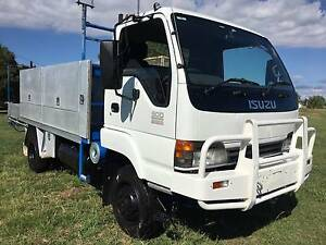 2005 Isuzu NPS300 4x4 Traytop/Service Vehicle Truck Inverell Inverell Area Preview