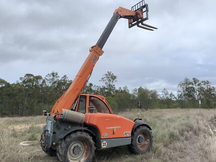 Forklift All terrain 4x4 Telehandler crane bucket forks JLG Enoggera Brisbane North West Preview