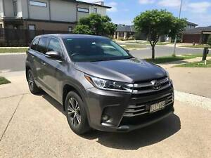 2017 Toyota Kluger Gx (4x2) 8 Sp Automatic 4d Wagon