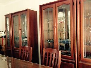 4 piece set wal unit (wood) Casula Liverpool Area Preview