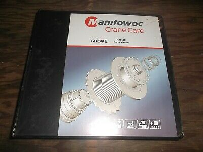 Manitowoc Rt650e Rough Terrain Crane Factory Parts Catalog Manual