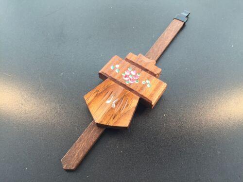 "Cuckoo Clock Pendulum 1 5//8/"" Chalet Style NEW Brown German Made 7 1//4/"" Length"