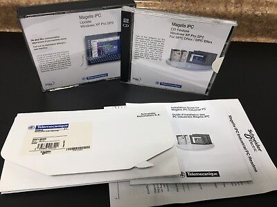 Schneider Electric Telemecanique Magelis Ipc Floppy Restore Disks 392642 350136