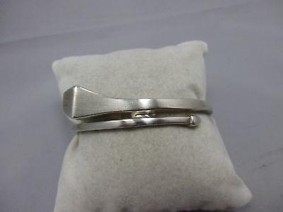 Vintage Armreif im Nagel Design Sterling Silber 925 fs punziert