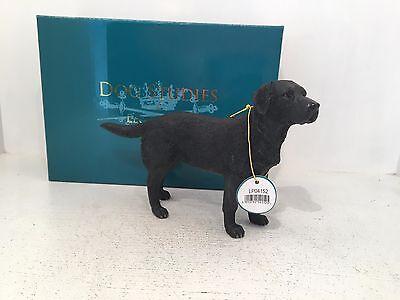 Dog Studies by Leonardo Black Labrador Figurine Ornament *BRAND NEW BOXED*