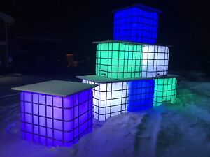 Custom winter lighting