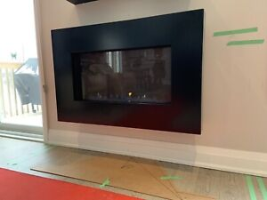 Wall Natural Gas Fireplace