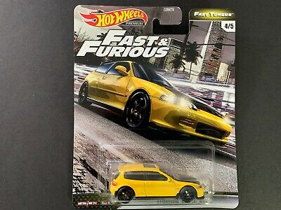 Hot Wheels Honda Civic EG Fast and Furious GBW75-956F 1/64