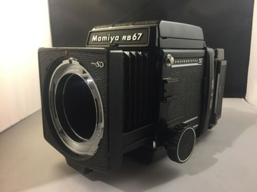 Mamiya RB67 Pro SD Body with 120 Film Back
