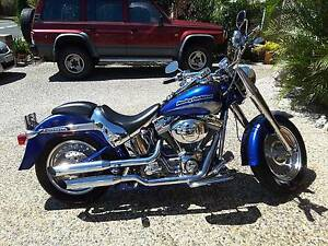 CVO FLSTF Fat Boy 2005 Harley Davidson Bongaree Caboolture Area Preview