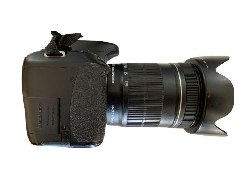 Canon EOS 600D SLR camera + EF-S 18-135mm