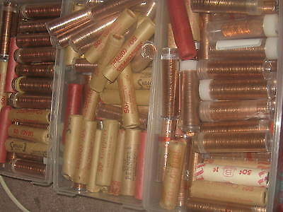 Click now to see the BUY IT NOW Price! CANADA 1994 ORIGINAL MINT ROLL PENNIES 1 ROLL FROM THIS LOT