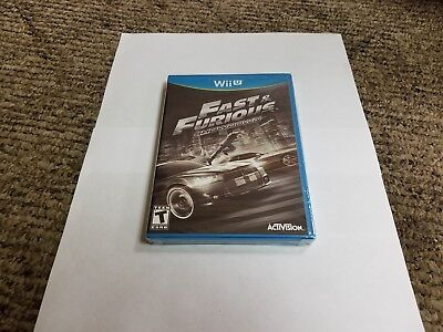 Fast & Furious: Showdown (Nintendo Wii U, 2013) segunda mano  Embacar hacia Argentina