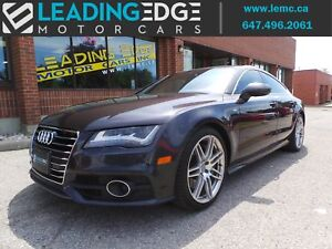 2012 Audi A7 Premium Plus S-Line, Vision Package, Bang & Olufsen