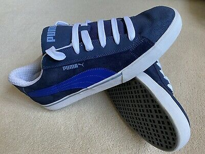 Men's Puma 'S Low City' Casual Shoe - Peacoat Blue - UK Size 11