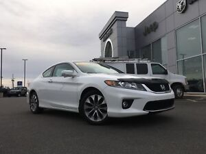 2014 Honda Accord EX-L COUPE - LEATHER, SUNROOF, NAV, BACKPU CAM