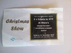 New year eve tickets Modbury Heights Tea Tree Gully Area Preview