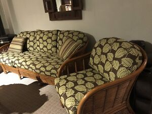 Couch and chair set (living room or solarium)