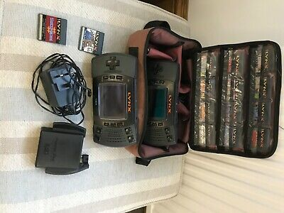 Atari Lynx 2 consuls great bundle good condition