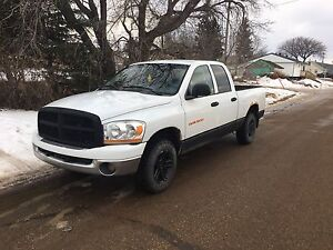 For trade 2006 dodge 1500 4x4
