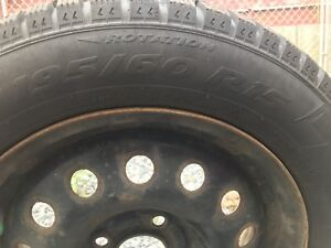 Studded Tires 195/60 R15 & rims