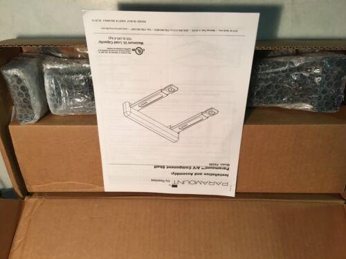 Peerless Paramount Adjustable A/V Component Shelf Gloss Black PS200