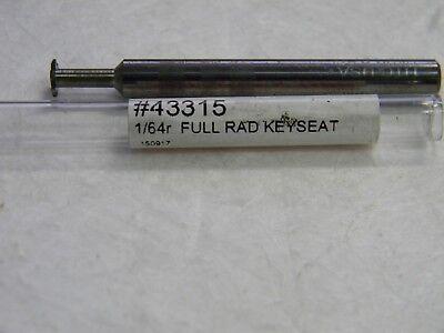 Harvey Woodruffkeyseat Cutters Shank Diameter Inch 14 72757909