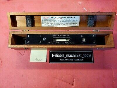 American Made Starrett 15 Master Precision Level No 199 Div .0005 P628