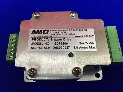 Advanced Micro Controls Amci Sd7540a Stepper Drive