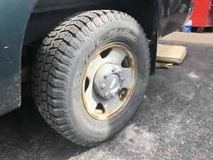 Tires and wheels for Ford F-250