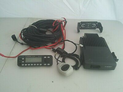 Motorola Uhf Mcs 2000 Model M01hx627w 2-way Radio Control Unit M01rlm9pw6bn