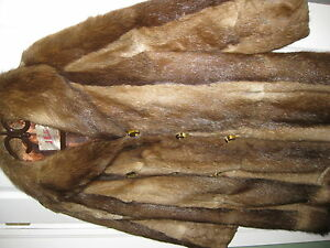 REAL FUR COAT   40 INCHES LONG