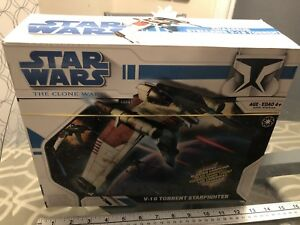 Star Wars Clone Wars Star fighter Vehicle - V-19 Clone Shuttle