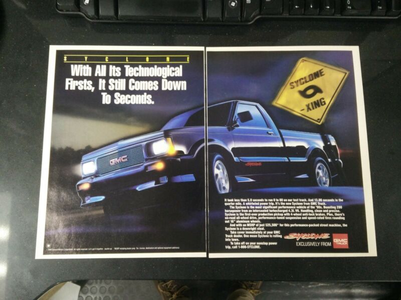 GMC Syclone Magazine Articles