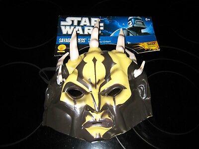 Savage Opress Mask (STAR WARS SAVAGE OPRESS CHILD MASK~RUBIES)