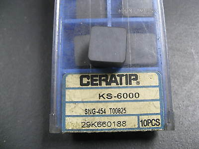 CERATIP KYOCERA SPG-633 T00825 Grade KS6000 Ceramic Insert