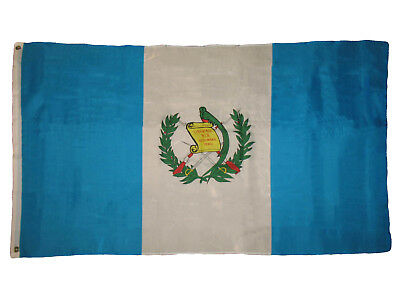3x5 Guatemala Premium Quality Flag 3'x5' House Banner Gromme