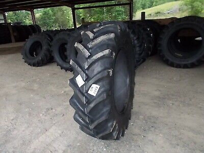 Two New 18.4-34 R1 14 Ply Tractor Tires