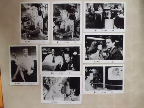 Sharon Stone BASIC INSTINCT Paul Verhoeve Lobby card set movie japan 16.5×12cm