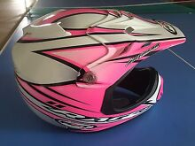 Child pink motorbike helmet Southside Gympie Area Preview