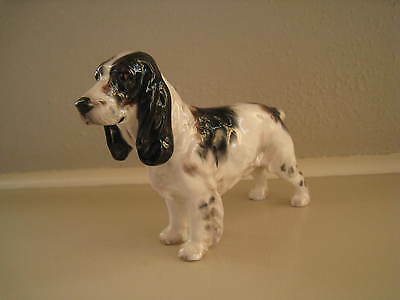 Vintage Royal Doulton Cocker Spaniel Dog Figurine #HN1078,Retired
