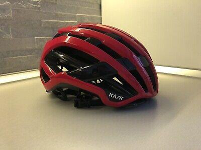Casco Bici Kask Valegro Mtb Corsa Strada Ciclismo Red tg S Helmet...