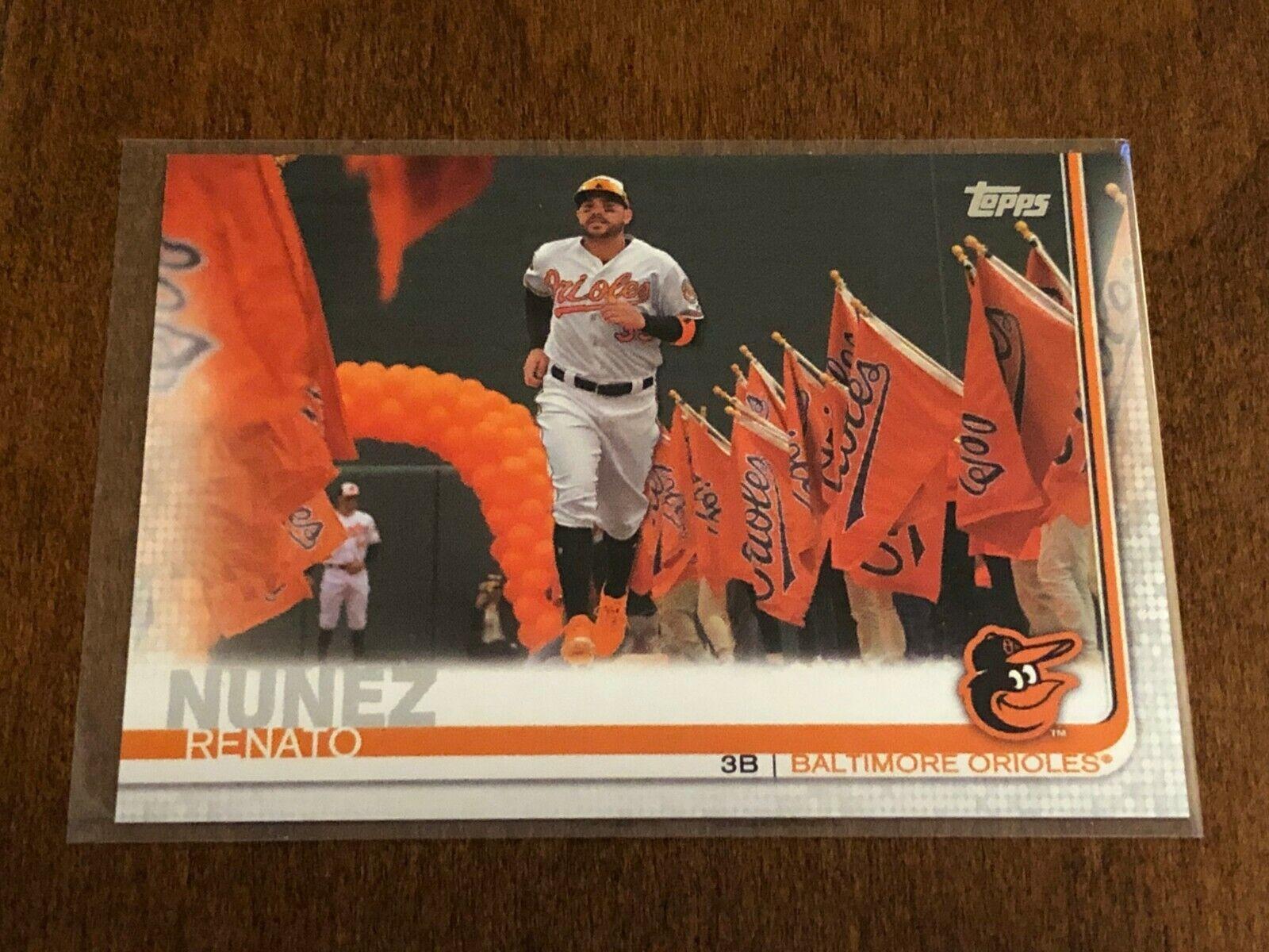 2019 Topps Update Baseball Advanced Stat - Renato Nunez - Baltimore Orioles