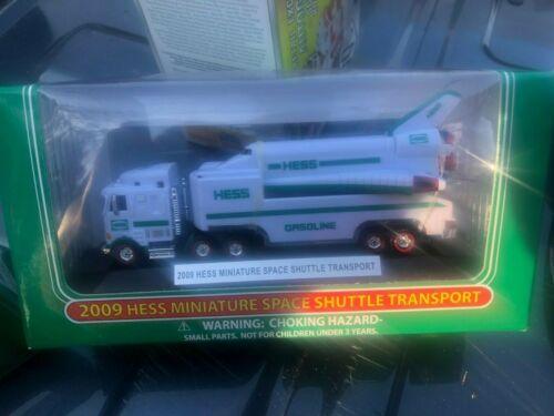 Brand New Hess Mini Trucks 2009 Hess Miniature Space Shuttle Transport NIB