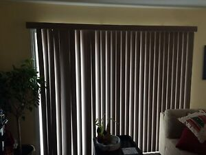Set of Vertical Blinds - MAKE OFFER MUST GO