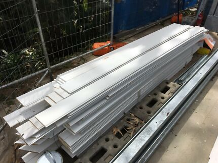 Internal lining boards - white primed