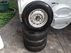 14x5.5  Hiace rim's & tyres set of 4 Toukley Wyong Area Preview