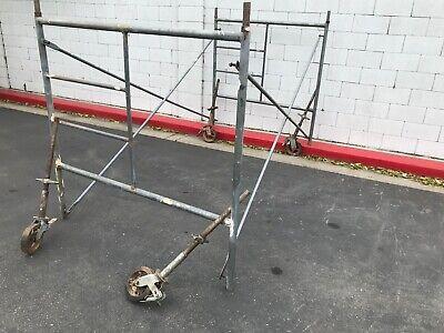 5x 5 Scaffolding 1 58 Diameter Tube Used Scaffold