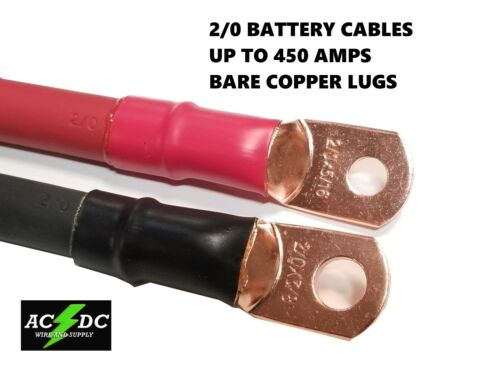 2/0 AWG 00 Gauge Copper Battery Cable Power Wire AUTO, Inverter, RV, Solar