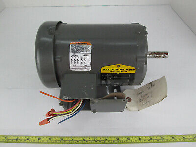 Baldor Reliance Industrial Motor M3541 34a61-255 34 Hp 230460 Volts 3450 Rpm